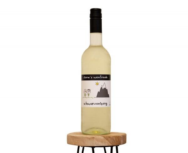 2019 Schwarzenberg T Weinflasche