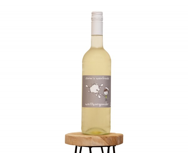 2019 Weißburgunder T Weinflasche