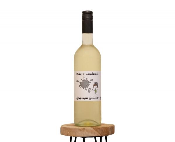 2019 Grauburgunder F Weinflasche