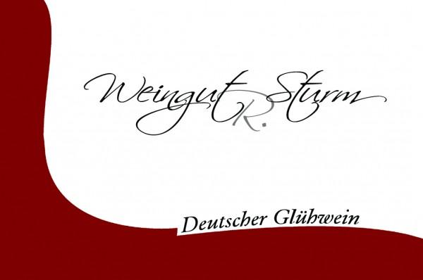 Deutscher Glühwein rot - 1 Liter