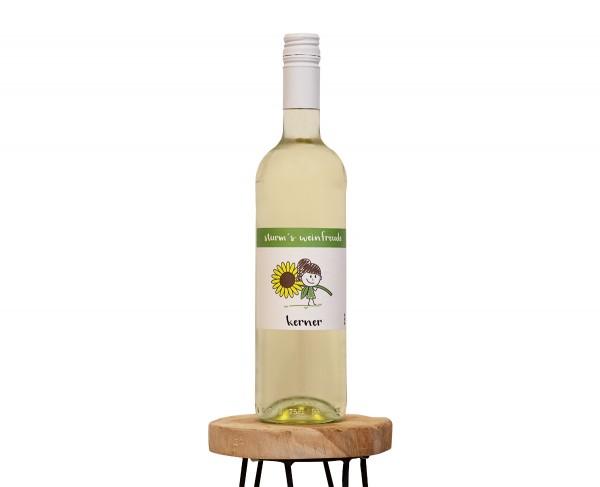 2019 Kerner M Weinflasche