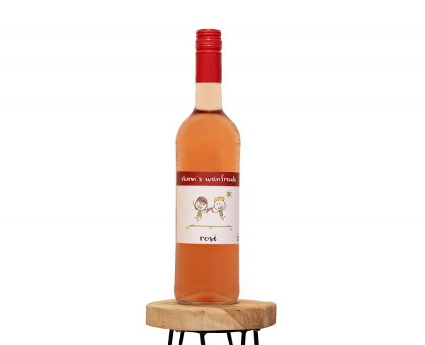 2019 Rosé F Weinflasche