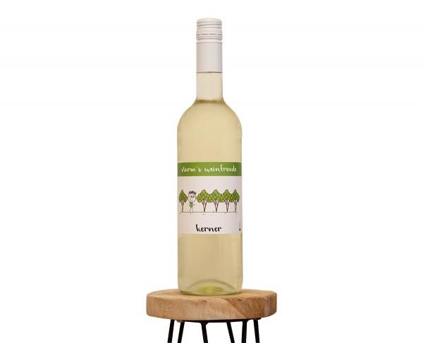 2019 Kerner T Weinflasche